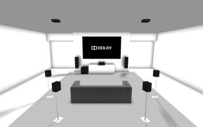 7.1.2 Surround Sound Installation
