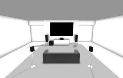 5.1 Surround Sound Installation